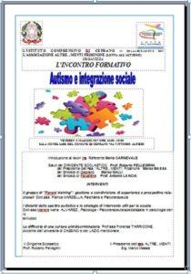 Giornata autismo 2
