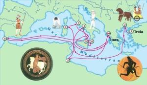 Odissea_Itinerario Ipotetico