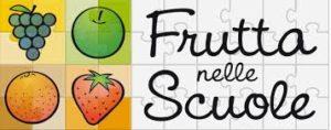frutta nelle scuole